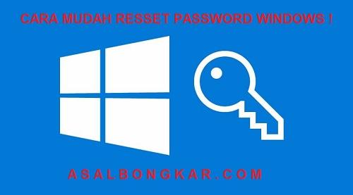Cara Reset password windows tanpa install ulang dengan isee recovery full crack - Asalbongkar.com