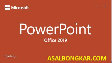 aktivasi microsoft office 2019